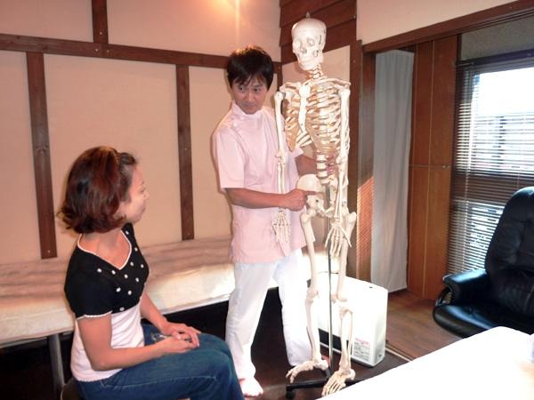 もりやま整体院の治療手順3治療方針のご説明