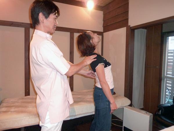 もりやま整体院の治療手順5再検査